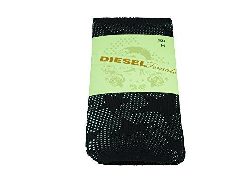 Diesel starleg Service collants 00cpjq00lvc Donna Calzettoni FEIN calze,, colore: nero nero L
