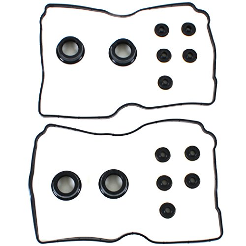 NEW VC320 Engine Valve Cover Gasket Set (With Spark Plug Tube Seals and Grommets) (Subaru Valve Cover Replacement compare prices)