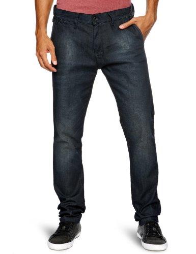 Quiksilver - Jeans, uomo, Marrone (Raw), 48 IT (34W/32L)