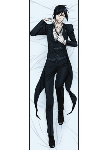 Fantastic Deal! Black Butler Sebastian Body Pillow Version 2