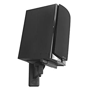 Pinpoint AM-40B Side Clamping Bookshelf Speaker Wall Mount (Pair)