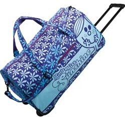 Little Miss Sunshine Holdall Wheeled Duffle Bag