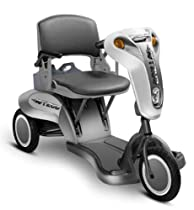 Gusto 3 Wheel Folding Scooter, Light Silver