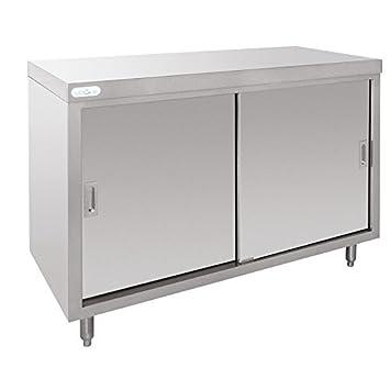 nisbets edelstahl schrank us237. Black Bedroom Furniture Sets. Home Design Ideas