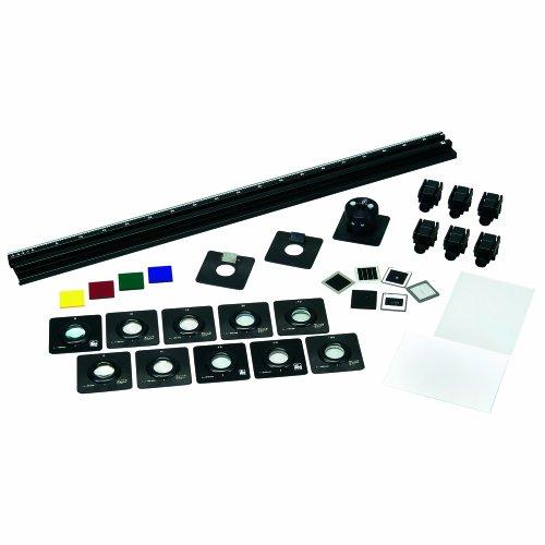 3B Scientific 30-Piece Kroncke Optics Experiment Kit, 115V/60 Hz