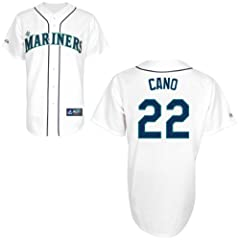 Robinson Cano Seattle Mariners Home Replica Jersey by Majestic by Majestic
