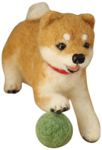 H441-361 and Shiba Inu! Let's Make a call out in Hamanaka wool felt (japan import) - 1