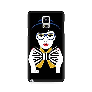 Ebby Bowtie Girl Premium Printed Case For Samsung Note 4 N9108