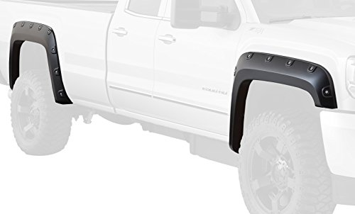 Bushwacker 40968-74 Sonoma Red Metallic Fender Flare for GMC, (Set of 4) (Fender Flares Gmc Sonoma compare prices)