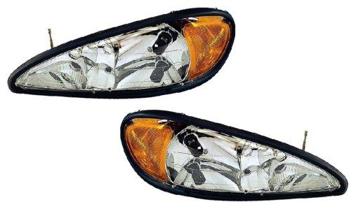 Pontiac Grand AM Replacement Headlight Assembly - 1-Pair