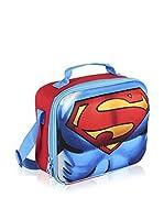 SUPERMAN Bolsa porta alimentos 3D Superman (Azul)