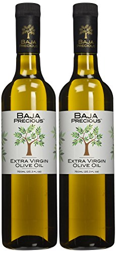 Baja Precious - Extra Virgin Olive Oil, 750ml (25.3 Fl Oz) - Pack of 2
