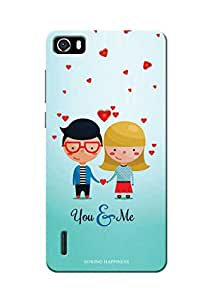 Sowing Happiness Printed Back Cover for Huawei Honor 6