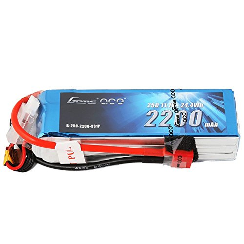 LiPo Battery Pack 2200mAh 25C 3S 11.1V with Deans Plug for RC Car