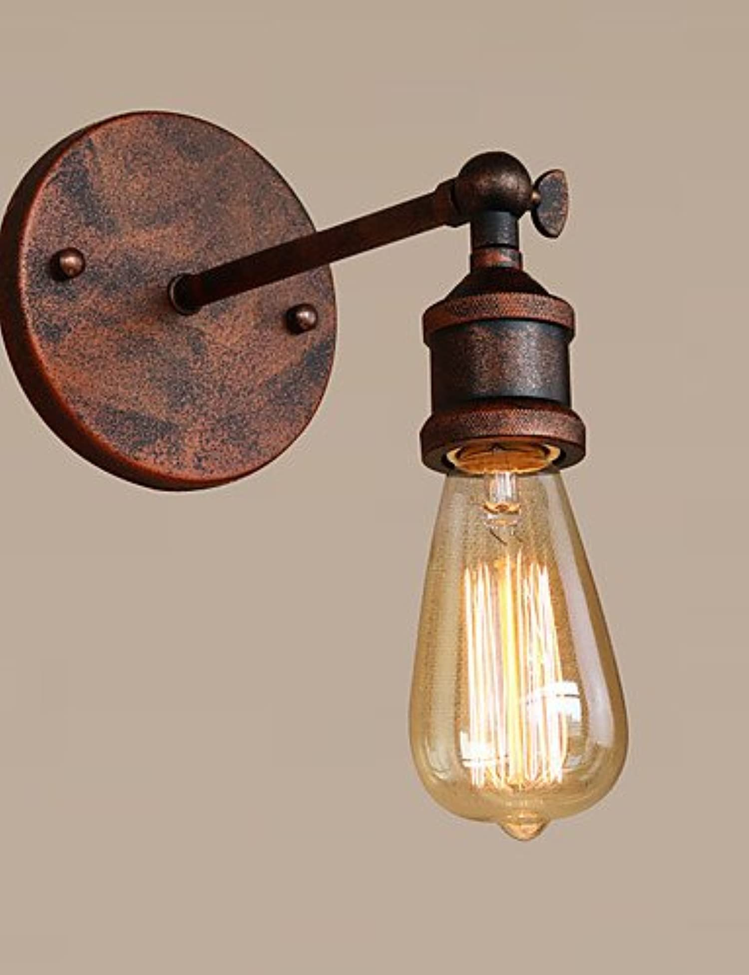Industrial Style Wall Mounted Lights : YUPX Wall Light Wall Mount Light Retro Industrial Style Country Metal Wall Lights Restaurant ...