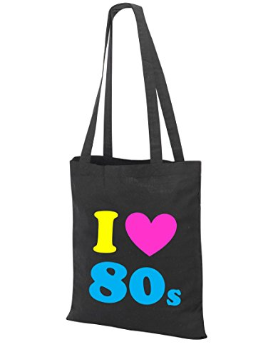 I love the 80s ladies Tote Bag with colourful lettering.  Easy retuern policy and free, fast despatch