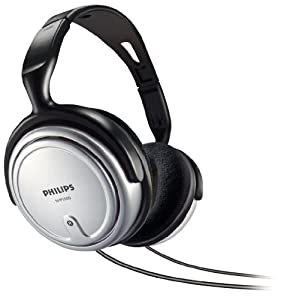 Philips SHP2500/37 Full Size Headphone with Volume Control