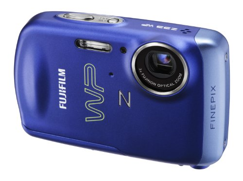 Fujifilm FinePix Z33fd Digital Camera - Blue (10MP, 3x Optical Zoom) 2.7 inch LCD