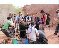 Signed 127 Hours (James Franco / Danny Boyle) 8x10 By James Franco and Danny Boyle autographed