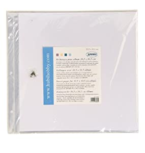 Recharge pour album 10 pochettes plastiques vis - Album photo pochette plastique ...