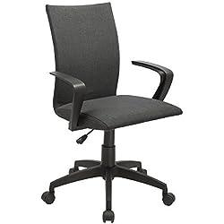 HPD New Black Ergonomic Desk Task Office Chair Midback Home Computer Chair by Hotproddeal