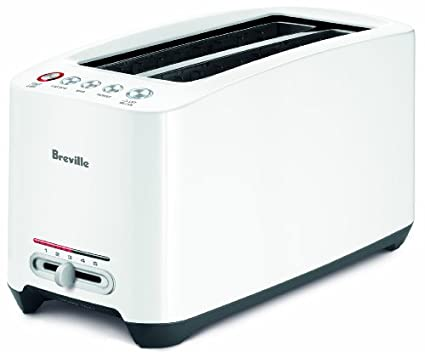 Breville Lift and Look BTA630XL 4 Slice Touch Pop UP Toaster