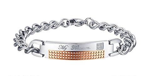 annroz-herren-damen-armband-armreif-edelstahl-zircon-silber-graviert-my-treasure-id-kette