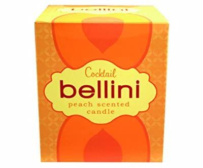 Gift Republic Cocktail Candle - Bellini Scented,Multi from Gift Republic