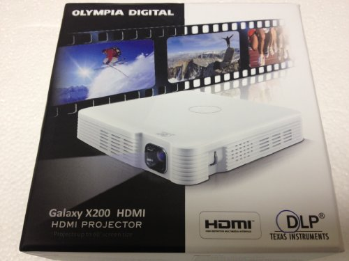 Olympia Digital Galaxy Mini Hdmi Projector (X200 Hdmi)