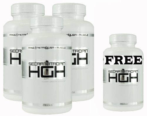 Secratatropin 3 Bottles and 1 Free Secratatropin - Fat Burner to increase metabolism - Increase testosterone and best fat burner for men - A dramatic decrease in body fat and increase in lean muscle mass