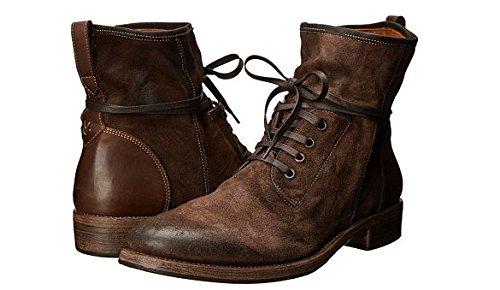 John Varvatos Mens Brown Leather Boots Size 11 (EU 45)