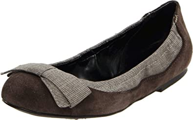 Jessica Simpson Women's Saru Flat,Medium Heather Grey,5 M US