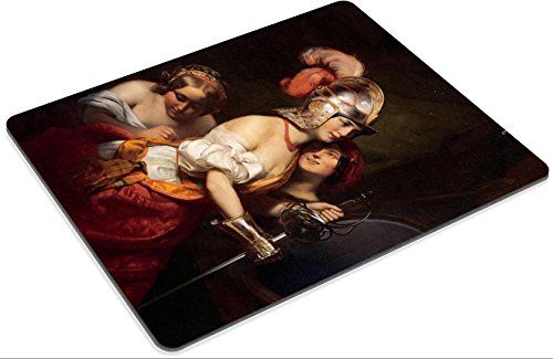 MSD Mouse Pad Friedrich Von Amerling The Armed Maiden Customized Desktop Laptop Gaming Mousepads