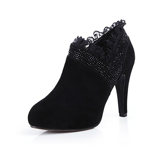 balamasa-womens-chunky-heels-lace-ornament-round-toe-zipper-black-frosted-boots-4-uk