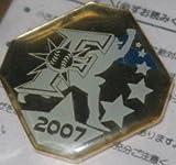 日本ハムファイターズ FC ピンバッチ 2007 シルエット ピッチャー