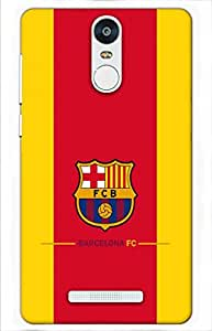 football Designer Printed Back Case Cover for Xiaomi Redmi Note 3