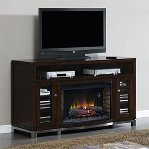 ClassicFlame Wesleyan Electric Fireplace Media Console in Meridian Cherry - 32MM6439M-C247
