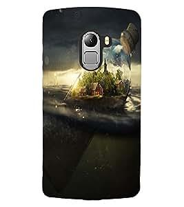 ColourCraft Creative Image Design Back Case Cover for LENOVO VIBE X3 LITE