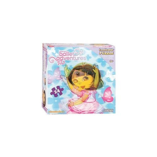 Dora the Explorer Ballet Adventure 24-piece Lenticular Puzzle - 1