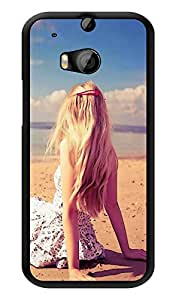 """Humor Gang Beach Life Girl Printed Designer Mobile Back Cover For """"HTC ONE M8 - HTC ONE M8S"""" (3D, Glossy, Premium Quality Snap On Case)"""