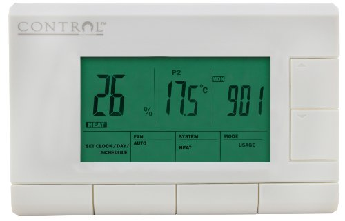 Control by Canarm M6004 5+1+1 Day Thermostat - 1
