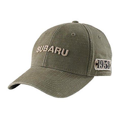 genuine-subaru-gear-olive-ripstop-ball-cap-hat