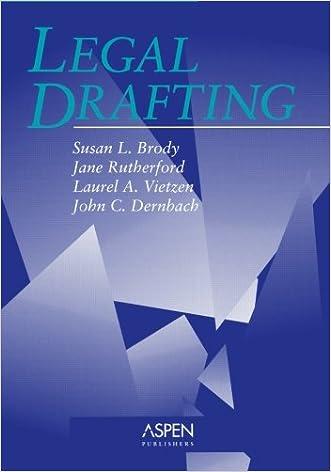 Legal Drafting (Coursebook)