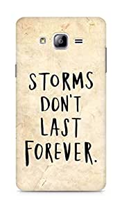 AMEZ storms dont last forever Back Cover For Samsung Galaxy ON7