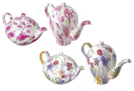 Printed Teapot Watering Can