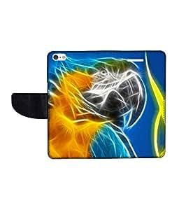 KolorEdge Printed Flip Cover For Apple IPhone 5 Multicolor - (43KeMLogo09835IPhone5)