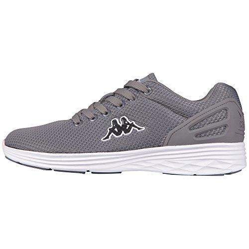 kappa-trust-footwear-unisex-sneakers-basses-mixte-adulte-gris-grau-1610-grey-white-taille-43-eu