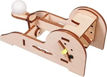 Pitsco Laser-Cut Basswood Torsion Catapult Kit (Individual Pack)