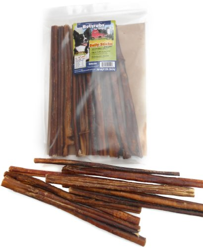 bellyrubs organic 12 inch bully stick dog treat 10 piece esa parrais. Black Bedroom Furniture Sets. Home Design Ideas