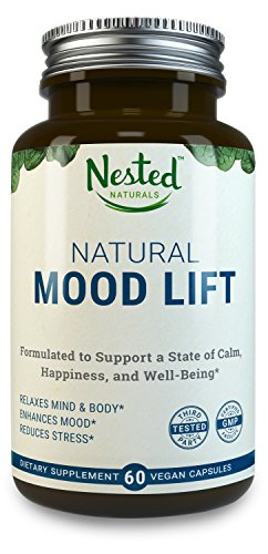 Natural-Mood-Lift-Relaxes-Mind-Body-Calms-Boosts-Serotonin-Reduces-Anxiety-Nested-Naturals-3rd-Party-Tested-Vegan-Non-GMO-Made-with-5-HTP-Magnesium-L-Methionine-Vitamin-B5-B6